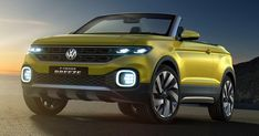 VW T-Cross Small SUV Coming This Year, Could Debut At The Paris Auto Show #New_Cars #Paris_Auto_Show
