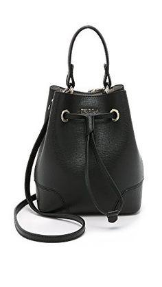 b53ab2cf7d62 Furla Women s Stacy Mini Drawstring Bucket Bag Furla