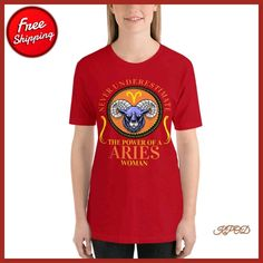 "139da76512f6 Fashion Clothing   Fitness on Instagram  ""Women s Aries Short-Sleeve  T-Shirt . . .  aries  ariesseason  ariesmemes  aries♈  ariestattoo   ariesseason♈️ ..."
