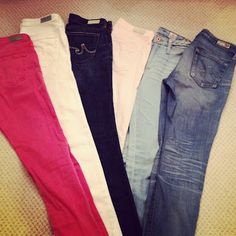 my AG Jeans collection