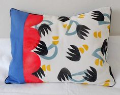 Cojines realizados en todo su proceso 100 handmade! #fabricstamp #surfacepatterndesign #cushion #complementosdelhogar #estampacionmanual #diseñodepatrones Throw Pillows, Bed, Parts Of The Mass, Toss Pillows, Cushions, Stream Bed, Decorative Pillows, Beds, Decor Pillows