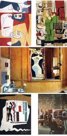 Le Corbusier, Abstract Painters, Abstract Art, Art Cube, Cubist Movement, Pierre Jeanneret, Art For Art Sake, Architecture Design, Art Studios