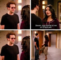 show That Show: Steven, stop staring at me or Ill kick you. That 70s Show Quotes, Tv Show Quotes, Series Movies, Film Movie, Really Funny, The Funny, Movies Showing, Movies And Tv Shows, Thats 70 Show