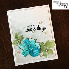 Hi there friends, Jacquie here today with a pretty floral card for a cold Sunday in January. D Flowers, Vintage Flowers, Altenew Cards, Arts And Crafts, Paper Crafts, Easter Colors, Sympathy Cards, Tim Holtz, Flower Cards
