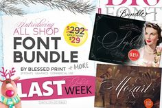 All Shop Bundle by BlessedPrint by Blessed Print on @creativemarket