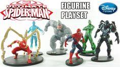 Ultimate Homem-Aranha Playset de Miniaturas Disney Store [Review]