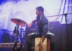 Daniel Manzano rocking at the tour !!!!!!! ❤ Btw we'll miss you Manzano's  #boyceavenue #danielmanzano
