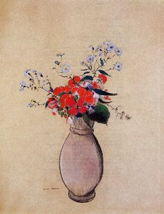 Bouquet of Flowers | Odilon Redon | oil painting