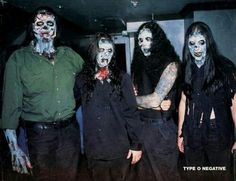 Type O Negative Halloween Zombies
