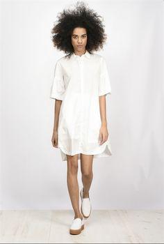Pinko Short dress in cotton gabardine
