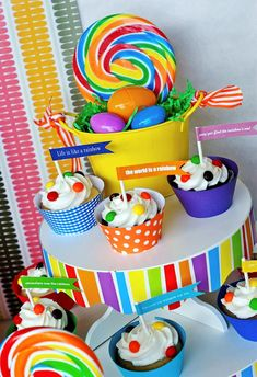 Rainbow Themed Easter Party