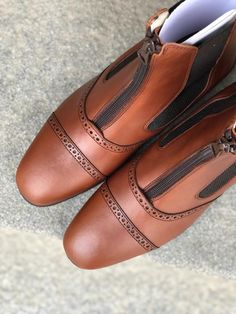 Short Boots, Design Your Own, Character Shoes, Dance Shoes, Brown, Model, Collection, Fashion, Low Boots