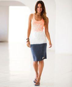 Superdry Miami kjole Sommerkjole fra Superdry. Kjolen har trykk og logo i front. Bomullskvalitet. Vask 40ºC