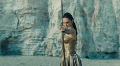 "Amazon princess Diana with bow, from ""Wonder Woman"" 2017"