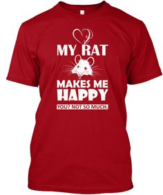 My Rat Makes Me Happy. @amp92price if you get me this I will love you forever