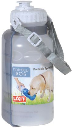 Thirsty Dog Water Sport Bottle – OfficialDogHouse