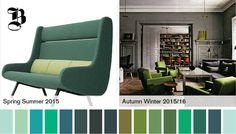 the evolution of #green | @meccinteriors | design bites  | #2015green