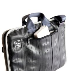 Westlake Recycled Laptop Bag by Alchemy Goods Big Umbrella, Sharpie Pens, West Lake, Laptop Case, Alchemy, Bag Making, Recycling, Men's Accessories, Recycled Materials