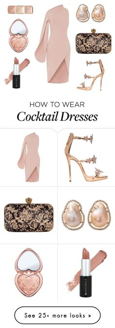 """Untitled #161"" by manggelis on Polyvore featuring Chesca, Giuseppe Zanotti, Jordan Alexander, Hourglass Cosmetics and Too Faced Cosmetics"