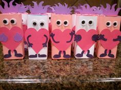 valentine's day juice box robot