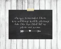 Chalkboard Quote Printable chalkboard quote by pitterpatternursery, $5.00