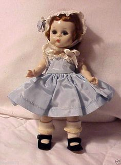 "1950's Madame Alexander Vintage SLW Tagged""Wendy Kin""Doll 8"" Tall Rod Necked | eBay"