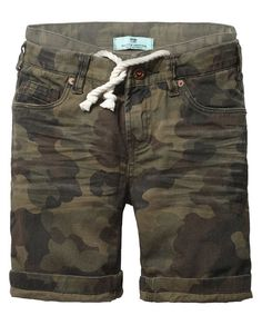 Shorts met dubbele tailleband - Scotch