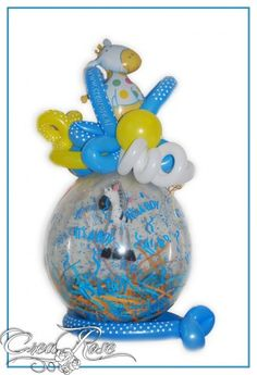 Cadeauballon it's a boy Stuffing #Balloon #Qualatex