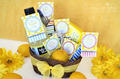 when life hands you lemons...cute twist on a saying and the perfect pick me up for anyone