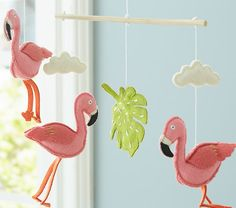 Flamingo Mobile | Pottery Barn Kids