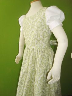 Liesl's curtain dress from the Sound of Music  by tulipdesign, $68.00
