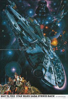 Millenium Falcon & Star Wars