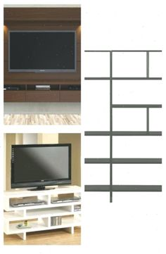 Foshay Bookcase Wall Units in Colors, - Best Tvunit ideas