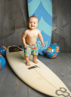 How adorable is this?! I loved the surf boards and C was cute as can be! I adore his little wet curl on top of his head after his bath!