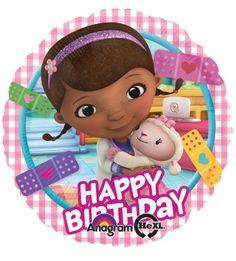 56 best happy birthday images on pinterest birthday wishes happy 17 doc mcstuffin happy birthday balloon with lambie disney junior party girl anagram m4hsunfo