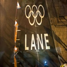 Olympics-only lane