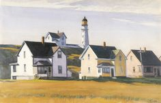 Hopper - Lighthouse Village, 1929