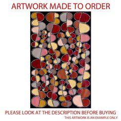 Aboriginal Art Painting by Sally Clark MADE TO ORDER 90cm x 130cm in Art, Aboriginal, Paintings | eBay