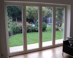 Bifolds with patio