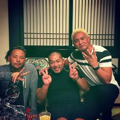 Chaos: Shinsuke Nakamura, Kazuchika Okada & Tomohiro Ishii