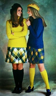 College girls, Jours de France November 1968
