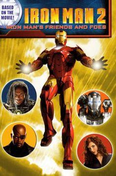 Iron Man 2: Iron Mans Friends and Foes (Turtleback School & Library Binding Edition) (Iron Man 2 (Pb)) @ niftywarehouse.com #NiftyWarehouse #IronMan #Iron-man #Marvel #Avengers #TheAvengers #ComicBooks #Movies