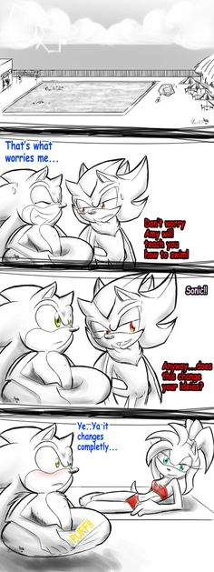 .:How to Convence Sonic How to Swim:. by PhoenixSAlover on DeviantArt