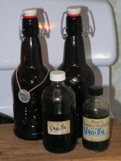 This is just one of many ways to make your own vanilla extract. This is not the cheapest way, but it makes a strong extract, which is what ...