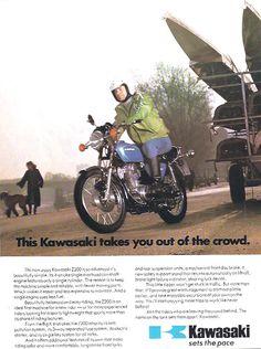 Manufacturer Kawasaki  Detail ndash Original Advert middot Z200  Size A4  Colour…