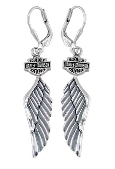 Harley-Davidson® Women's Wing Dangle Earring HDE0126