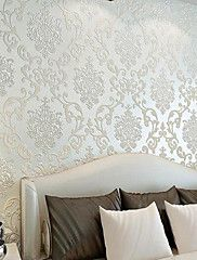 New+Rainbow™+Classical+Wallpaper+Art+Deco+European+style+Wall+Covering+Non-woven+Paper+Wall+Art+–+GBP+£+28.22