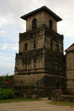 Baclayon Church, Bohol, Philippines #asiatravel #philippine #islands - now ruined by a recent earthquake...