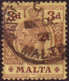 Malta 1914 King George V SG 78 Fine Used Scott 54 Other European and British Commonwealth Stamps HERE!