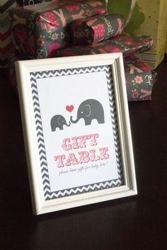 Tresea's Oh Baby Elephant Shower